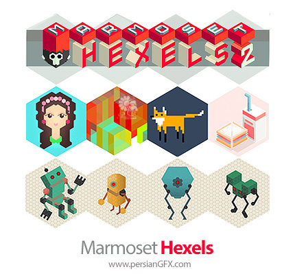 دانلود نرم افزار نقاشی با استفاده از شبکههای گرید - Marmoset Hexels v3.1.2 Build 7702 x64