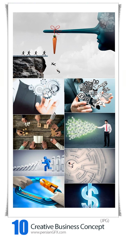دانلود تصاویر با کیفیت خلاقانه و مفهومی تجاری - Creative Business Concept