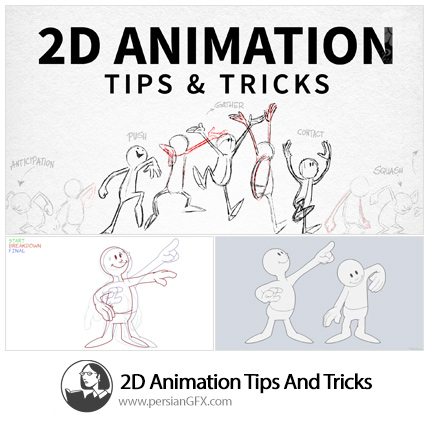 دانلود آموزش تکنیک های ساخت انیمیشن دو بعدی از لیندا - 2D Animation Tips And Tricks