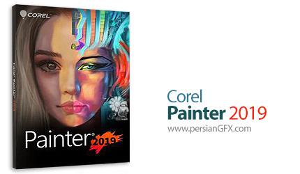 دانلود نرم افزار رسم نقاشی های دیجیتالی - Corel Painter 2019 v19.1.0.487 x64