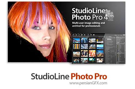 دانلود نرم افزار مدیریت و ویرایش تصاویر تحت شبکه - StudioLine Photo Pro v4.2.41