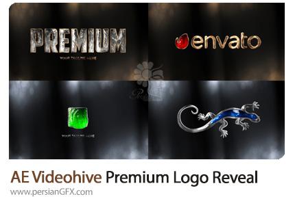 دانلود قالب نمایش لوگو با افکت ژله ای براق در افترافکت به همراه آموزش ویدئویی از ویدئوهایو - Videohive Premium Logo Reveal