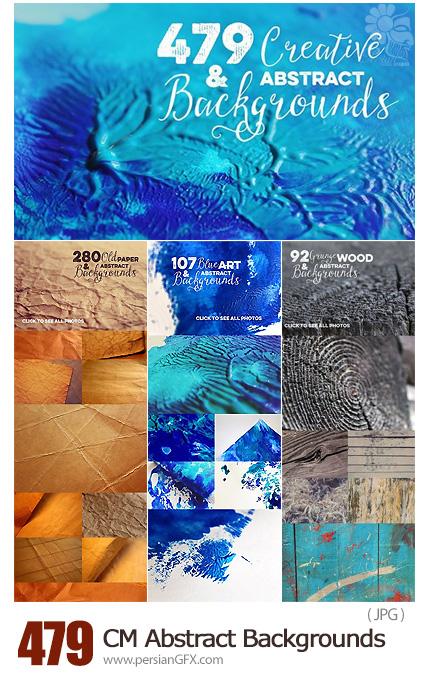 دانلود 478 تکسچر خلاقانه و انتزاعی - CreativeMarket 478 Creative And Abstract Backgrounds