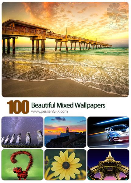 دانلود والپیپرهای زیبا و متنوع - Beautiful Mixed Wallpapers 08