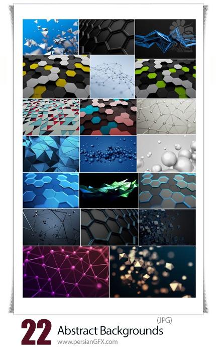 دانلود تصاویر با کیفیت بک گراندهای انتزاعی متنوع - Abstract Backgrounds