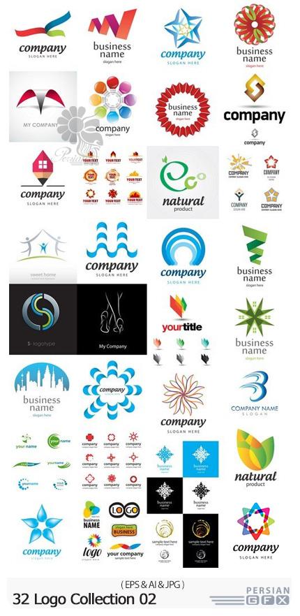 دانلود 32 آرم و لوگوی وکتور متنوع - 32 Logo Collection 02