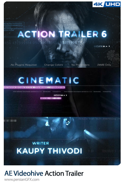 دانلود تریلر فیلم سینمایی اکشن به همراه آموزش ویدئویی از ویدئوهایو - Videohive Action Trailer