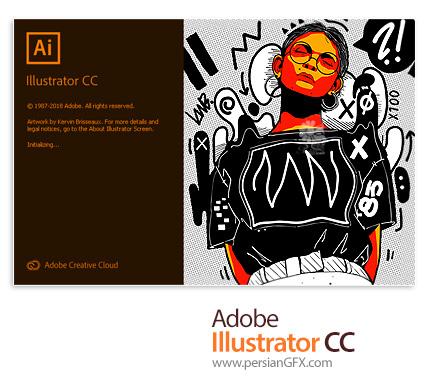دانلود نرم افزار ادوبی ایلوستریتور سی سی 2019 - Adobe Illustrator CC 2019 v23.1.0.670 x64 for win10 + v23.0.6.637 x64 for win7