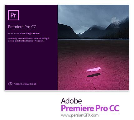 دانلود نرم افزار ادوبی پریمیر سی سی 2019 - Adobe Premiere Pro CC 2019 v13.1.5.47 x64