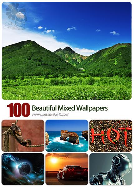 دانلود والپیپرهای زیبا و متنوع - Beautiful Mixed Wallpapers 12