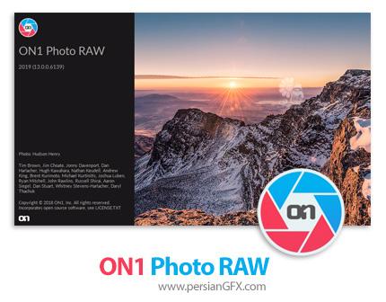 دانلود نرم افزار ویرایشگر تصاویر - ON1 Photo RAW 2019 v13.0.0.6139 x64