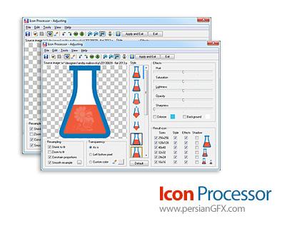 دانلود نرم افزار ساخت آیکون از عکس - Icon Processor v3.17