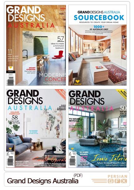 دانلود مجلات دکوراسیون داخلی خانه، آشپزخانه و پذیرایی - Grand Designs Australia