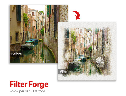 دانلود نرم افزار ویرایش و افکت گذاری عکس و ساخت فیلترهای سفارشی - Filter Forge v4.007