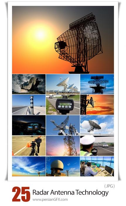 دانلود تصاویر با کیفیت فناوری ازتباطات مخابراتی شامل رادار و آنتن - Radar Antenna Telecommunications Communication Technology