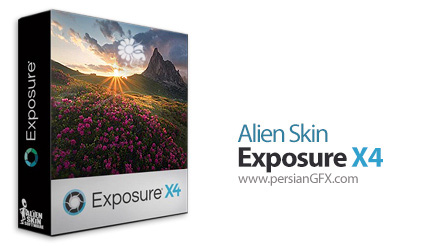 دانلود نرم افزار ویرایش حرفه ای و خلاقانه عکس های دیجیتال - Alien Skin Exposure X4 v4.5.6.142 x64