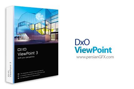 دانلود نرم افزار ویرایش و اصلاح عناصر تصاویر - DxO ViewPoint v3.1.9 Build 274 x64