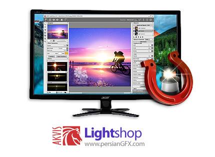 دانلود نرم افزار اضافه کردن افکت های نور و روشنایی به عکس - AKVIS LightShop v6.1.1648.17423 x86/x64
