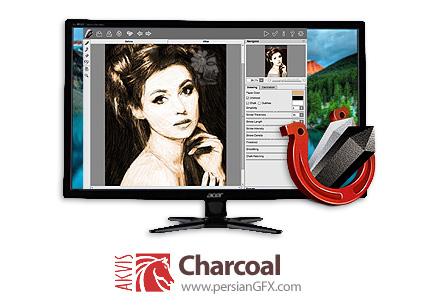 دانلود نرم افزار تبدیل تصاویر به نقاشی ذغالی و گچ - AKVIS Charcoal v3.1.389.17418 x86/x64