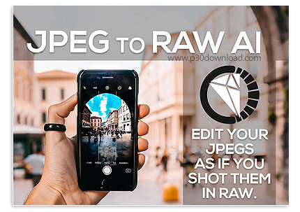 دانلود نرم افزار تبدیل عکس با فرمت JPEG به فرمت RAW - Topaz JPEG to RAW AI v2.0.1 x64