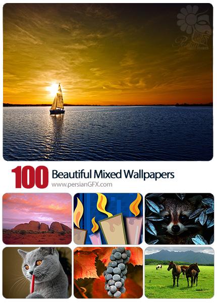 دانلود والپیپرهای زیبا و متنوع - Beautiful Mixed Wallpapers 22