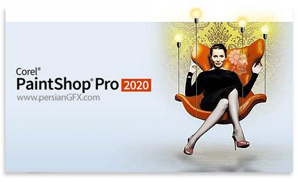دانلود نرم افزار ویرایش تصاویر - Corel PaintShop Pro 2020 v22.0.0.112 x86/x64 + Ultimate Add-ons