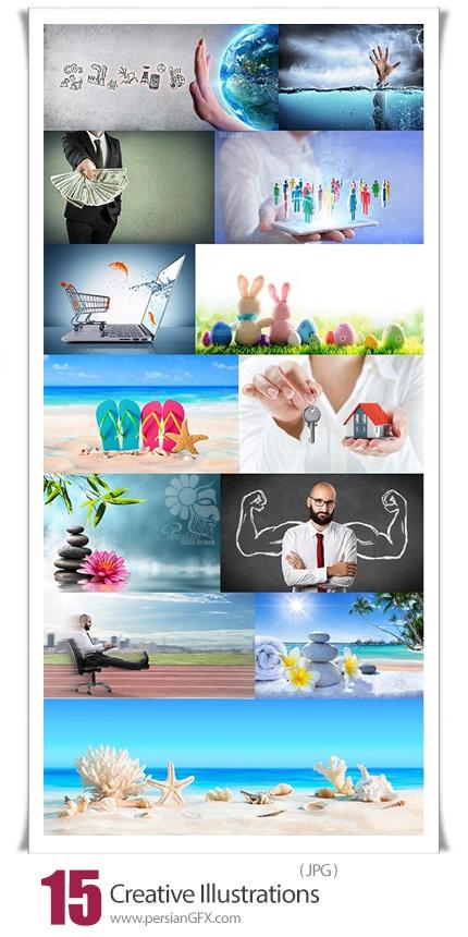 دانلود 15 عکس با کیفیت خلاقانه - Creative Illustrations