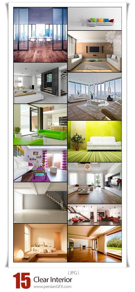 دانلود 15 عکس با کیفیت طراحی داخلی خانه - Clear Interior