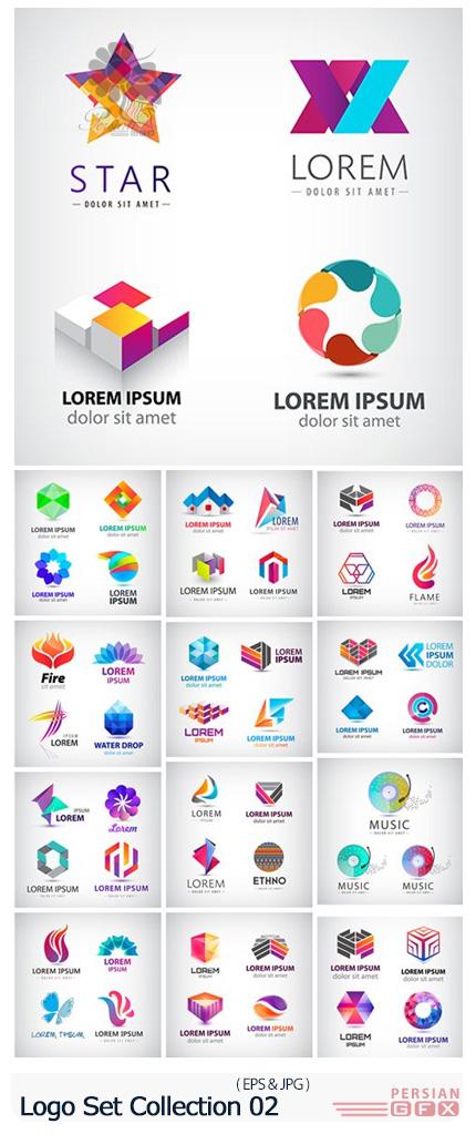 دانلود وکتور آرم و لوگوهای متنوع - Logo Set Collection 02