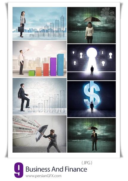دانلود 9 عکس مفهومی کسب و کار و امور مالی - Business And Finance