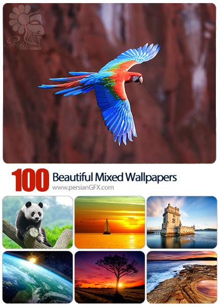 دانلود والپیپرهای زیبا و متنوع - Beautiful Mixed Wallpapers 26