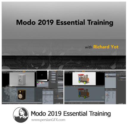 دانلود آموزش نرم افزار انیمیشن سازی مودو 2019 - Lynda Modo 2019 Essential Training