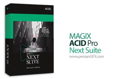 دانلود نرم افزار استودیوی میکس و مسترینگ صوت - MAGIX ACID Pro Next Suite v1.0.3.26 x86/x64