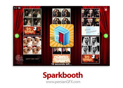 دانلود نرم افزار شبیه سازی اتاقک عکس - Sparkbooth Premium v6.1.55