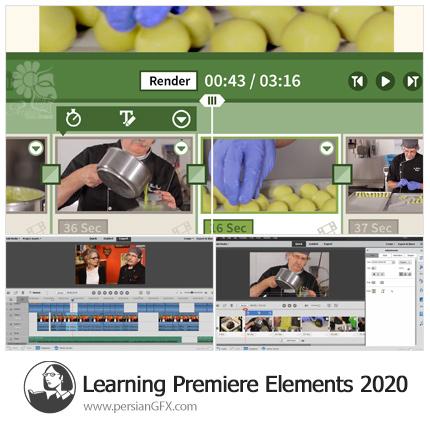 دانلود آموزش پریمیر المنت 2020 از لیندا - Lynda Learning Premiere Elements 2020