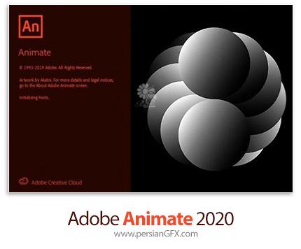 دانلود نرم افزار ادوبی انیمیت 2020 - Adobe Animate 2020 v20.5.1.31044 x64