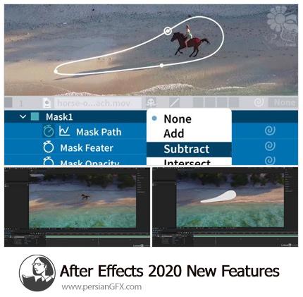 دانلود آموزش ویژگی های جدید ادوبی افترافکت سی سی 2020 - Lynda After Effects 2020 New Features