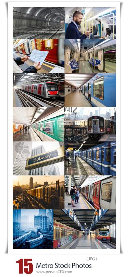 دانلود 15 عکس با کیفیت مترو، ایستگاه مترو و قطار مترو - Metro