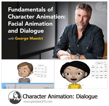 دانلود آموزش ساخت کاراکتر انیمیشن گفتگو - Lynda Character Animation: Dialogue