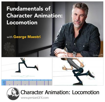 دانلود آموزش سیکل راه رفتن کاراکتر - Lynda Character Animation: Locomotion