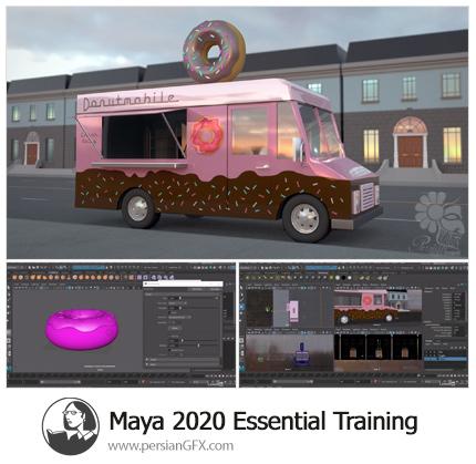 دانلود آموزش نکات ضروری کار با نرم افزار مایا 2020 از لیندا - Lynda Maya 2020 Essential Training