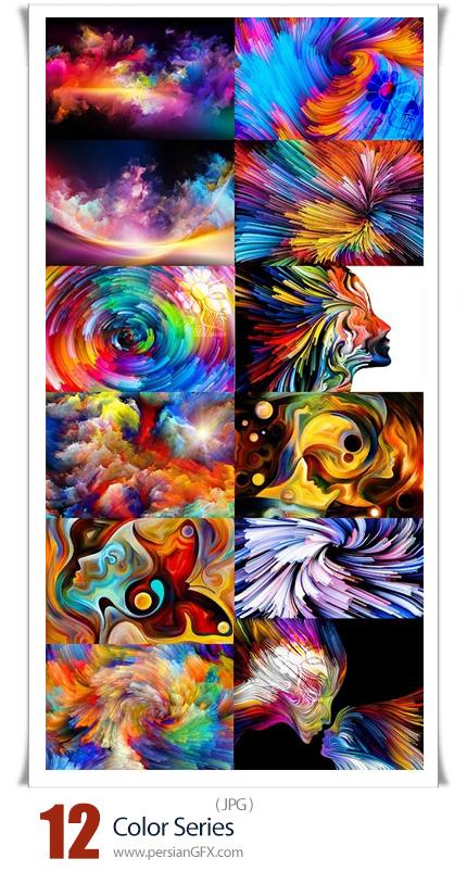 دانلود 12 عکس هنری رنگارنگ با کیفیت بالا - Color Series
