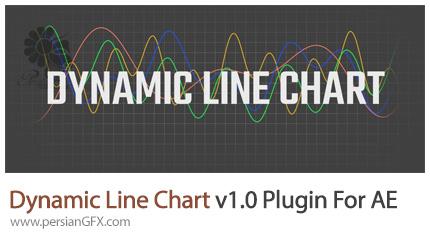دانلود پلاگین Dynamic Line Chart برای ساخت انواع نمودار در افترافکت - Dynamic Line Chart v1.0 Plugin For After Effect