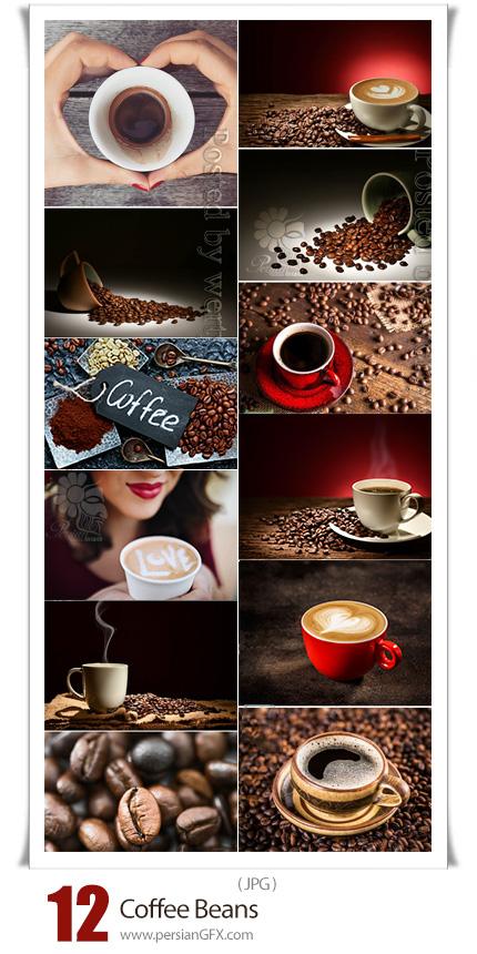 دانلود 12 عکس با کیفیت قهوه و دانه قهوه - Coffee Beans