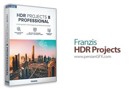 دانلود نرم افزار بهبود کیفیت عکس و ساخت عکس های اچ دی آر - Franzis HDR Projects Professional v8.32.03590 x86/x64