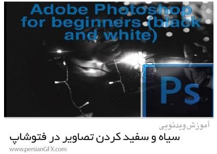 دانلود آموزش مقدماتی سیاه و سفید کردن تصاویر در فتوشاپ - Beginners Black And White Edition