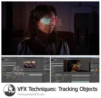دانلود آموزش تکنیک های VFX برای تراکینگ آبجکت در افترافکت - VFX Techniques: Tracking Objects Onto A Face