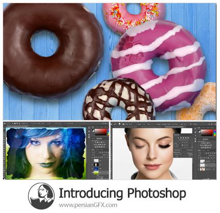دانلود آموزش معرفی بر فتوشاپ - Introducing Photoshop