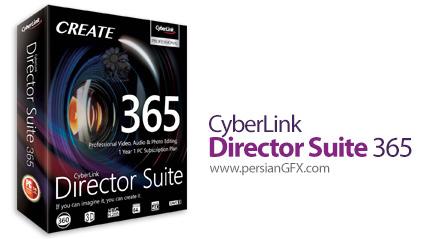 دانلود مجموعه نرم افزارهای ویرایشگر عکس، صدا و ویدئو - CyberLink Director Suite 365 v9.0 x64