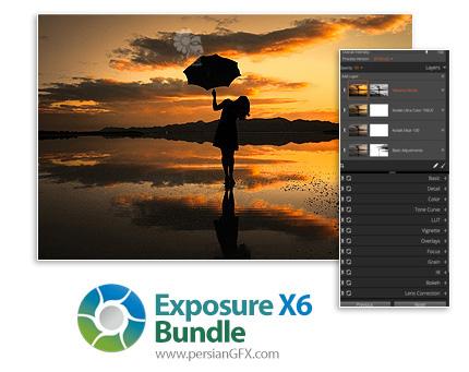 دانلود مجموعه نرم افزار و پلاگین های ویرایش حرفه ای و خلاقانه عکس های دیجیتال - Exposure Software Exposure X6 Bundle v6.0.1.86 x64